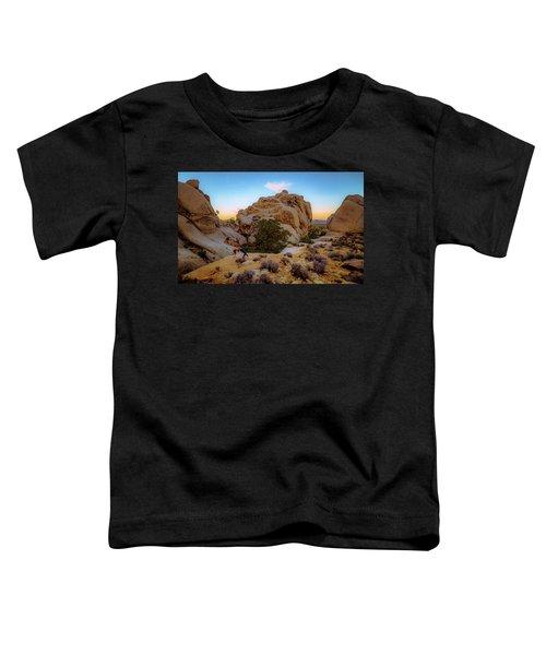High Desert Pose Toddler T-Shirt
