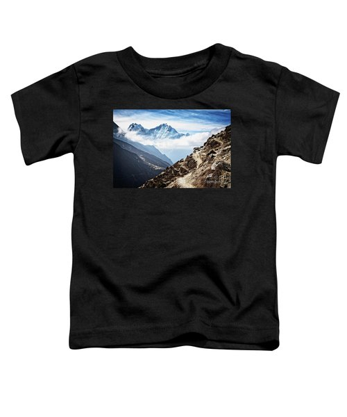 High In The Himalayas Toddler T-Shirt