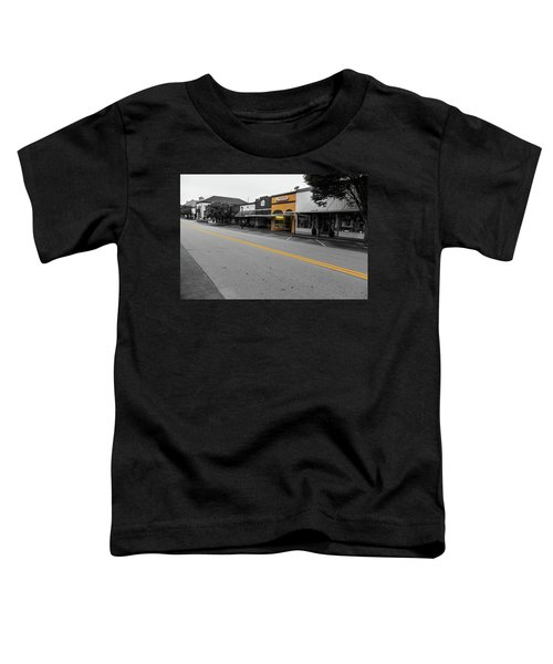 Historic Buford In Selective Color Toddler T-Shirt