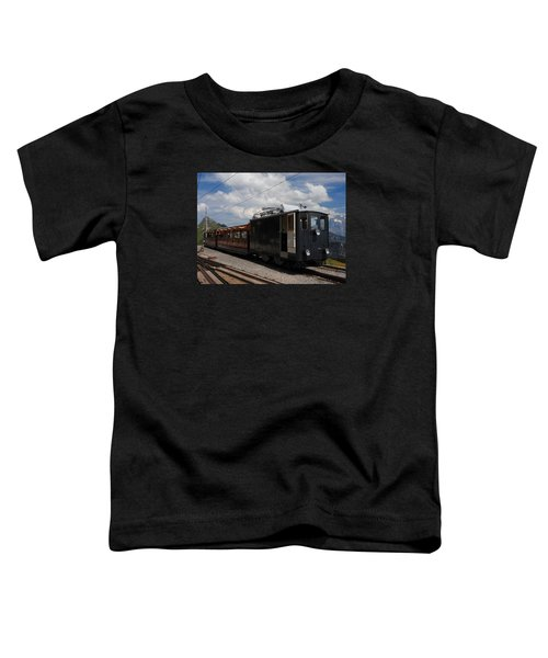 Historic Cogwheel Train  Toddler T-Shirt