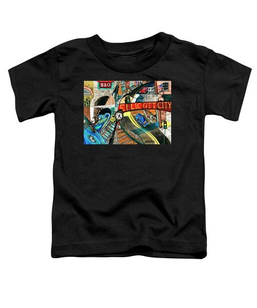 Historic Ellicott City Steam And Stone Toddler T-Shirt