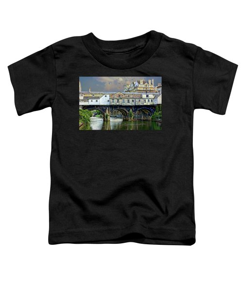 Historic Pulteney Bridge Toddler T-Shirt