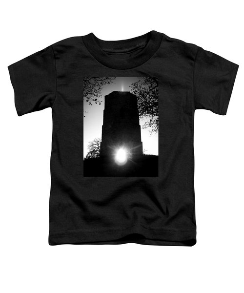 Historical Water Tower At Sunset Toddler T-Shirt