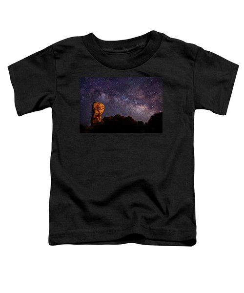 Hitchcock Pinnacle Nightscape -- Milky Way Toddler T-Shirt
