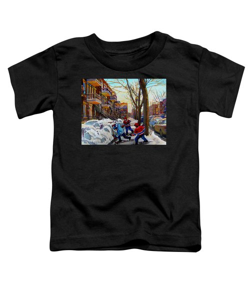 Hockey On De Bullion  Toddler T-Shirt