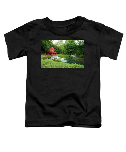 Hodgson Water Mill And Spring Toddler T-Shirt