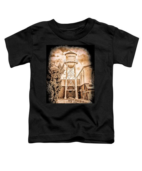 Hollywood Water Tower Toddler T-Shirt