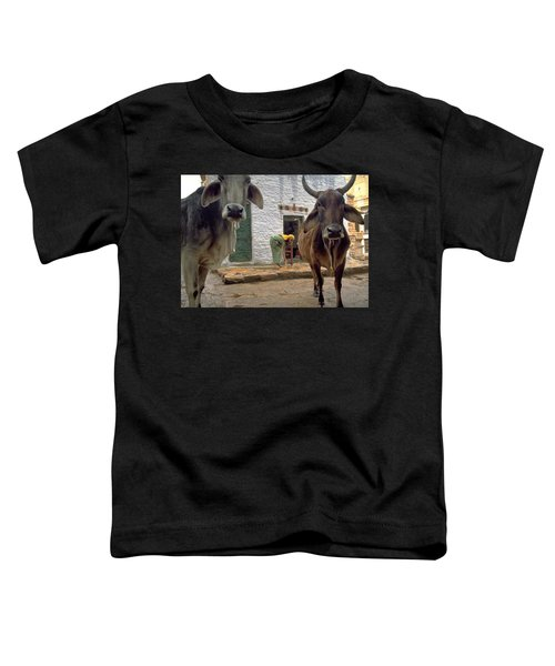 Toddler T-Shirt featuring the photograph Holy Cow by Travel Pics