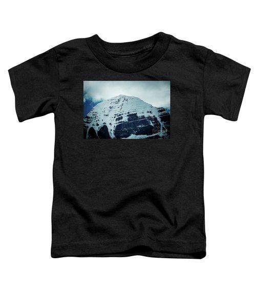 Holy Kailas North Slop Fragment Himalayas Tibet Yantra.lv Toddler T-Shirt