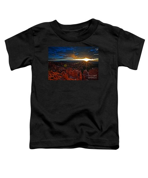 Hoodoos At Sunrise Bryce Canyon National Park Toddler T-Shirt