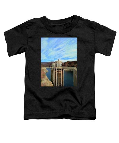 Hoover Dam Intake Towers No. 1 Toddler T-Shirt