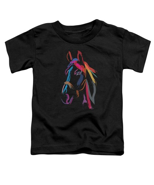Horse-colour Me Beautiful Toddler T-Shirt