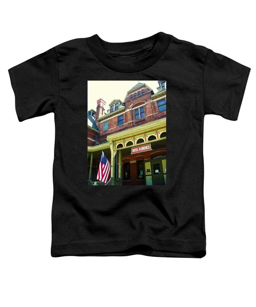 Hotel Florence Pullman National Monument Toddler T-Shirt