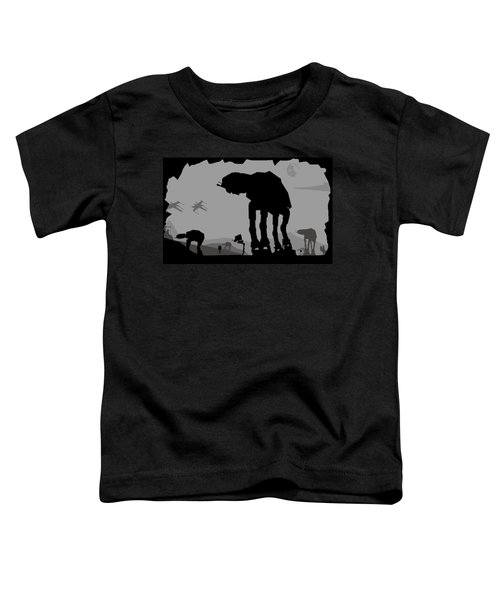 Hoth Machines Toddler T-Shirt by Michael Bergman