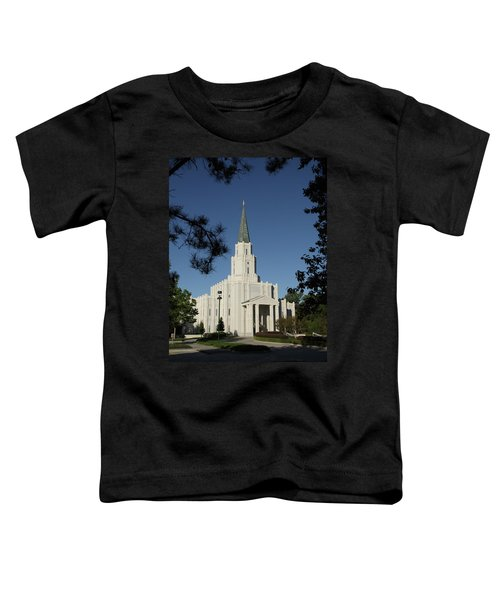 Houston Lds Temple Toddler T-Shirt