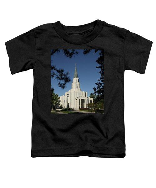 Houston Lds Temple Toddler T-Shirt