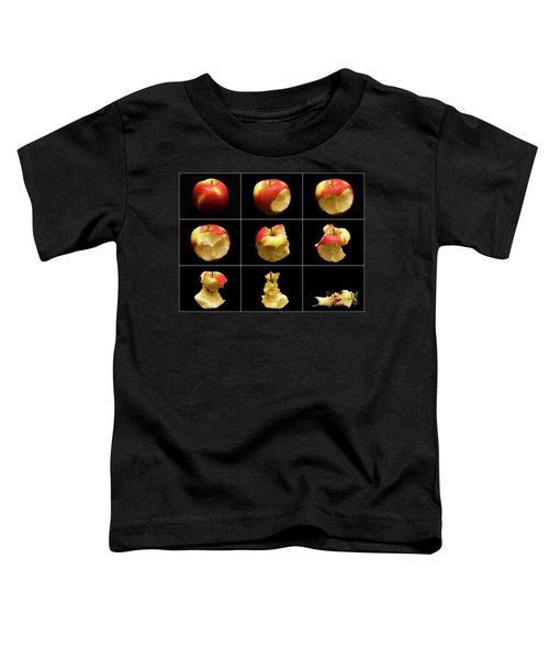 How To Eat An Apple In 9 Easy Steps Toddler T-Shirt