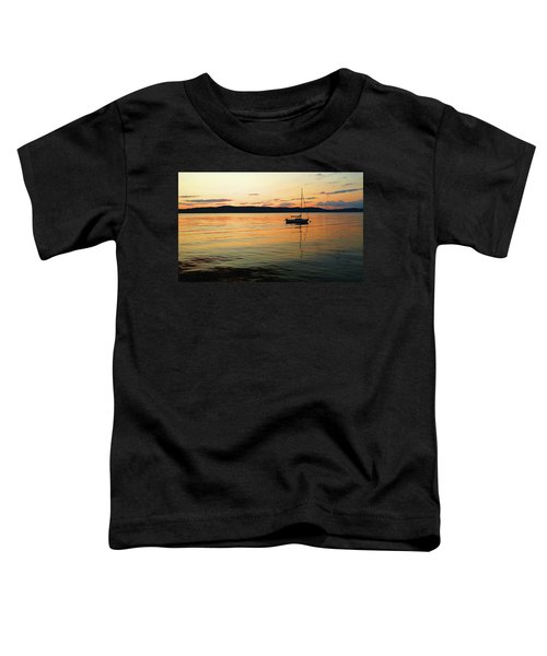 Hudson River From Irvington In Westchester County Toddler T-Shirt