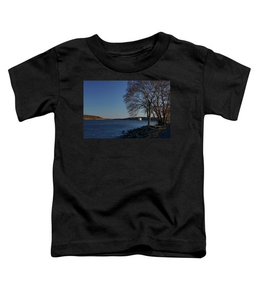 Hudson River With Lighthouse Toddler T-Shirt
