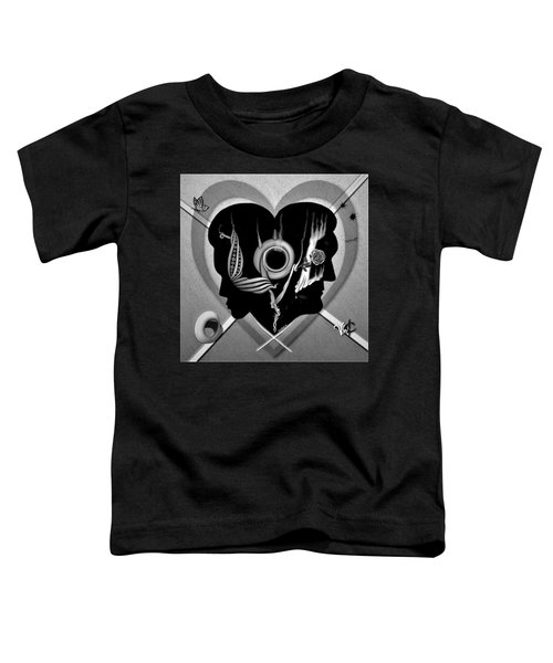 Hugs And Kisses Toddler T-Shirt