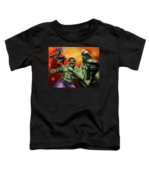 Hulk Toddler T-Shirt