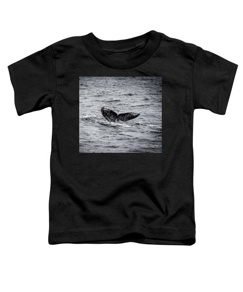 Humpback Whale Tail Toddler T-Shirt