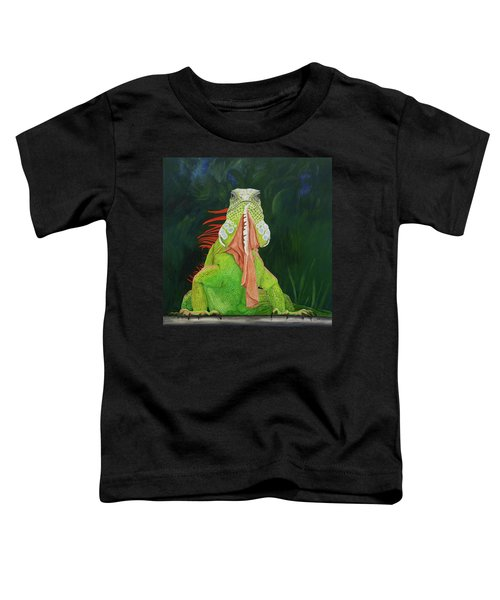 Iguana Dude Toddler T-Shirt