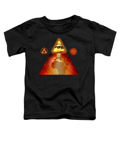 Illuminati World By Pierre Blanchard Toddler T-Shirt