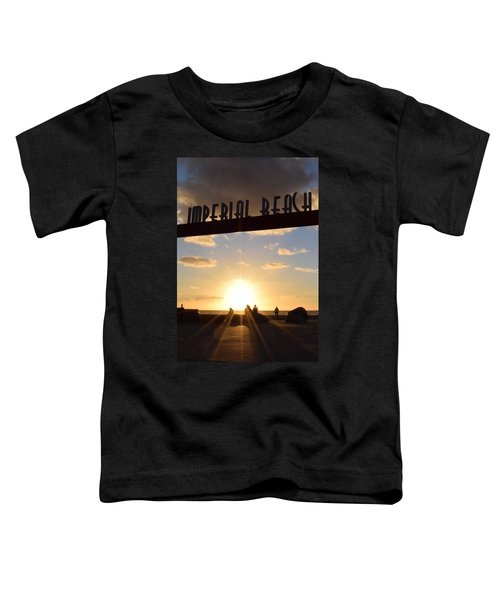 Imperial Beach At Sunset Toddler T-Shirt