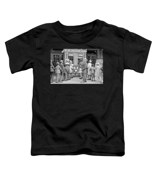 In Front Of A Movie Theater, Chicago, Illinois Toddler T-Shirt