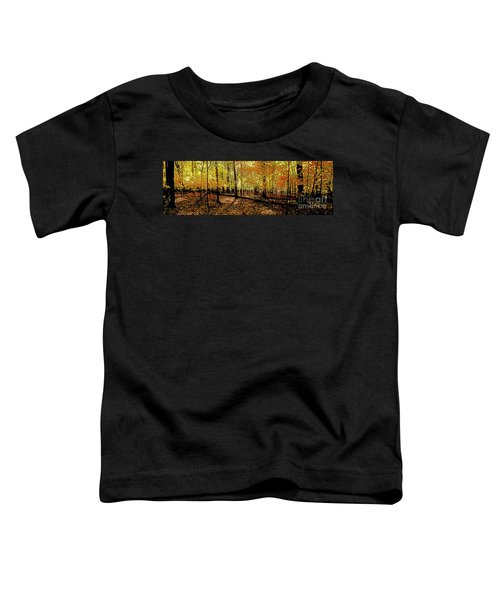 In The The Woods, Fall  Toddler T-Shirt