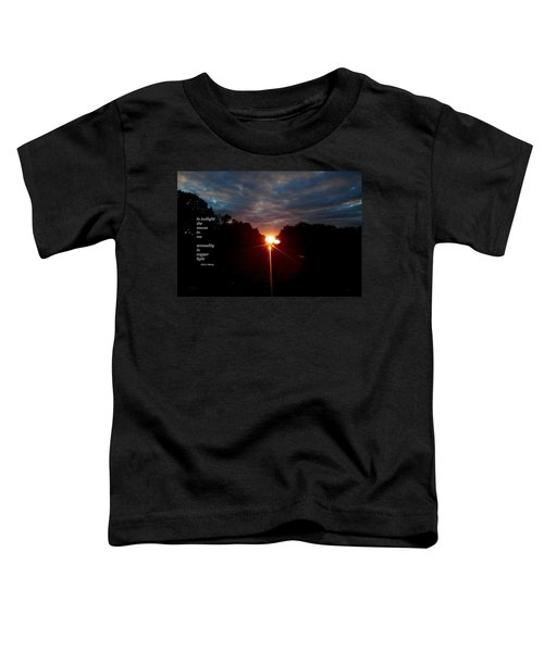 In Twilight Toddler T-Shirt