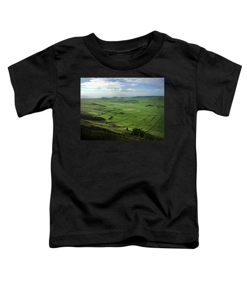 Incide The Bowl Terceira Island, Azores, Portugal Toddler T-Shirt