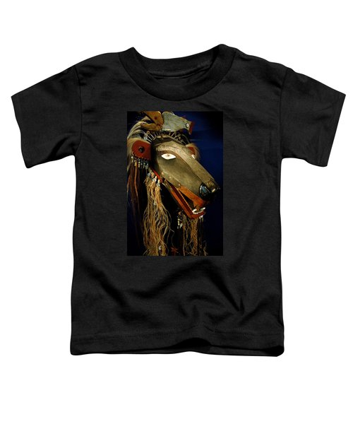 Indian Animal Mask Toddler T-Shirt by LeeAnn McLaneGoetz McLaneGoetzStudioLLCcom
