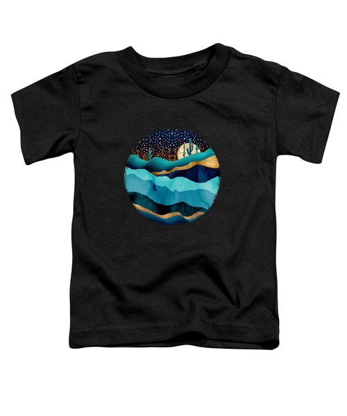 Indigo Desert Night Toddler T-Shirt
