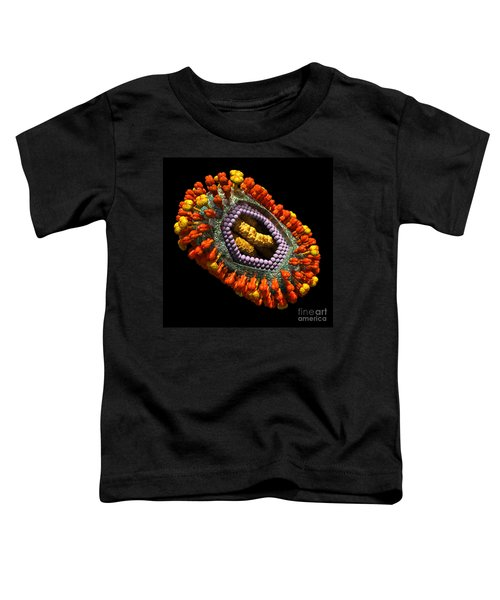 Influenza Virus Cutaway 5 Toddler T-Shirt