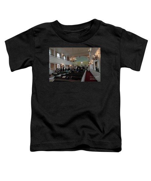 Inside The S. Georges Church Episcopal Anglican Toddler T-Shirt