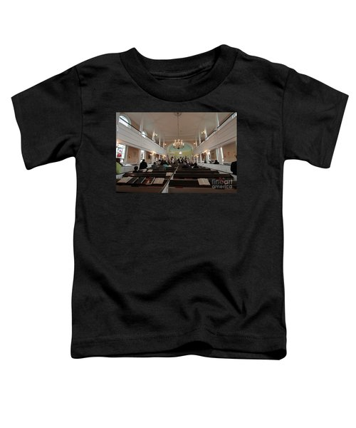 Inside The St. Georges Episcopal Anglican Church Toddler T-Shirt