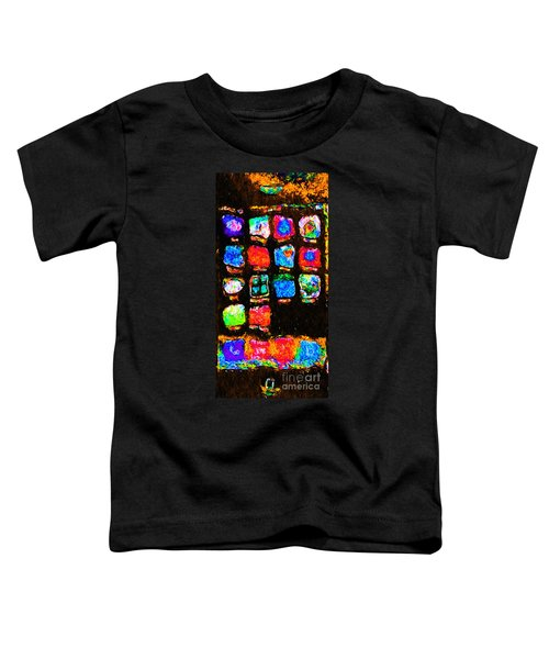 Iphone In Abstract Toddler T-Shirt