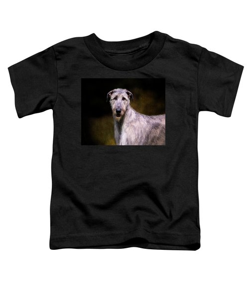 Irish Wolfhound Portrait Toddler T-Shirt
