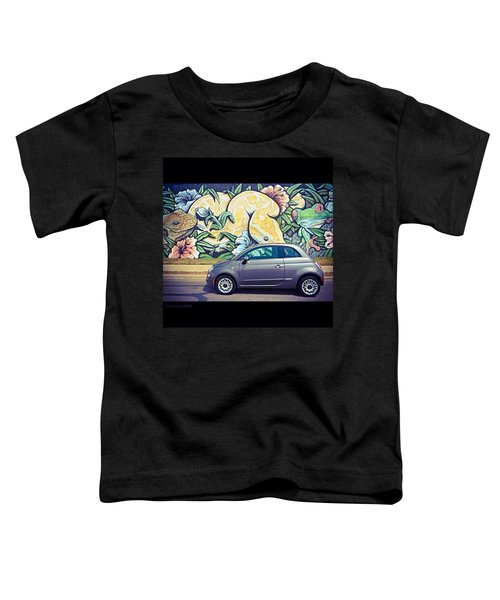 Is It Safe To Drive Mr. #fiat Into The Toddler T-Shirt