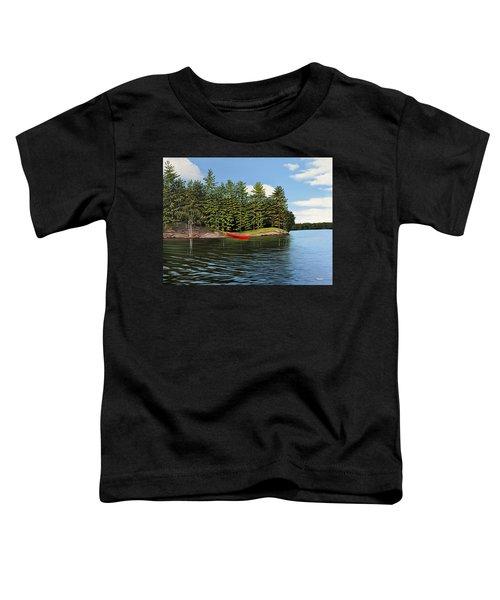 Island Retreat Toddler T-Shirt