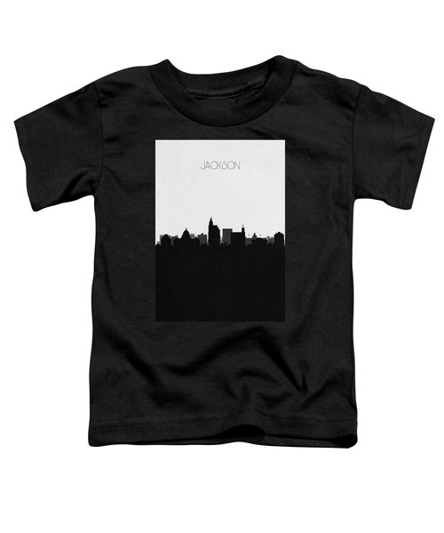 Jackson Cityscape Art Toddler T-Shirt