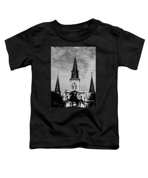 Jackson Square - Monochrome Toddler T-Shirt