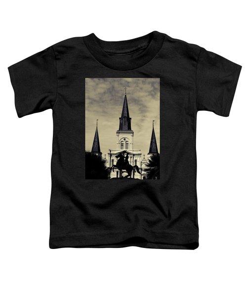 Jackson Square - Split Tone Toddler T-Shirt