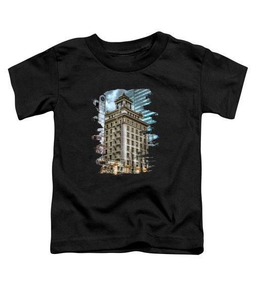 Jackson Tower Portland Oregon Toddler T-Shirt