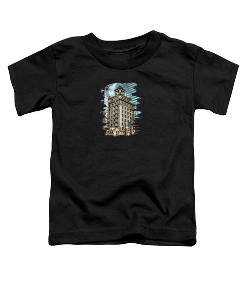 Jackson Tower Portland Oregon Toddler T-Shirt
