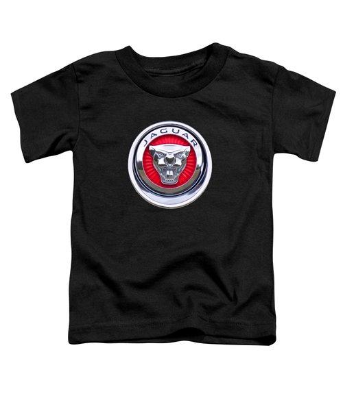 Jaguar Emblem Toddler T-Shirt