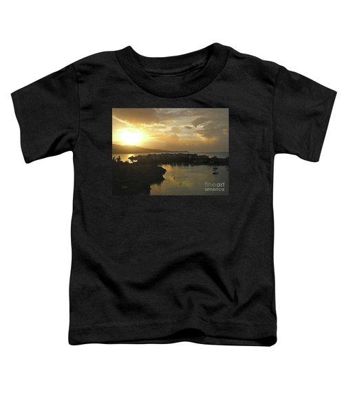 Jamaica Sunset Bay Toddler T-Shirt