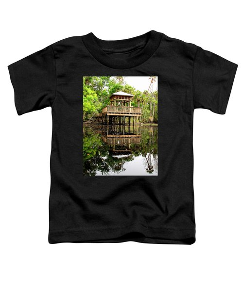 James E Grey Fishing Pier Toddler T-Shirt
